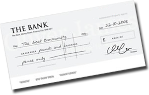How to write a cheque santander login
